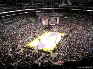 7I.Lakers tegen Sonics van bovenaf